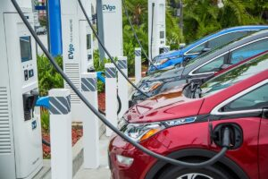 The new EVgo fast charging stations will offer 100-350-kilowatt capabilities to meet the needs of an increasingly powerful set of EVs coming to market.